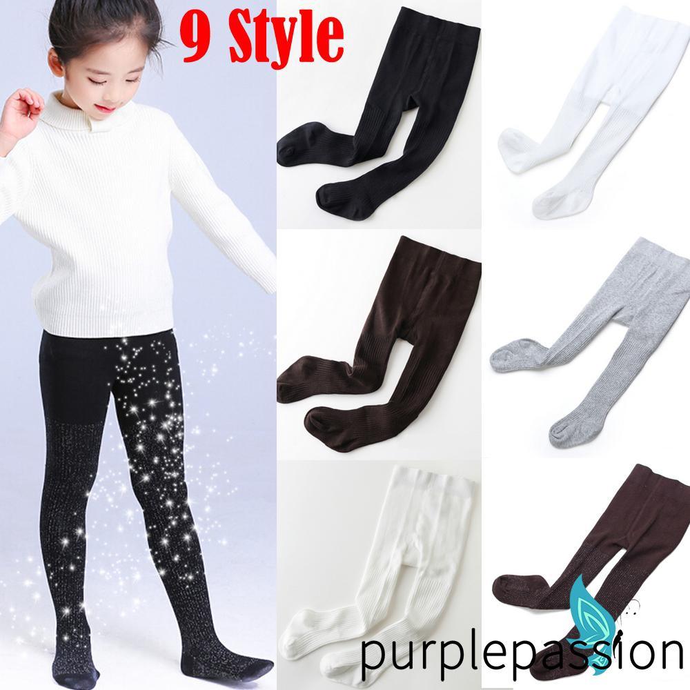 Baby Girls Boys Toddler Kids Cotton Warm Tights Stockings Pantyhose Pants Socks