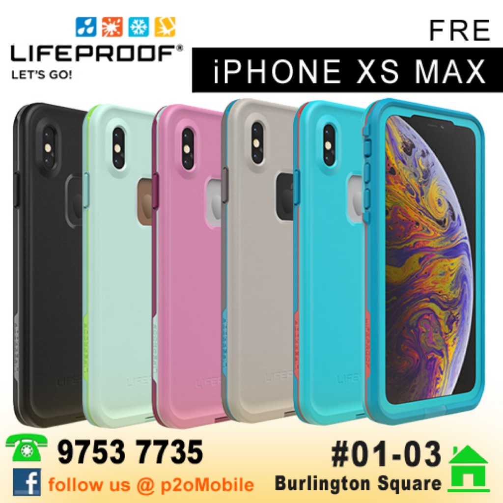 Lifeproof Fre For Iphone Xs Max Shopee Singapore