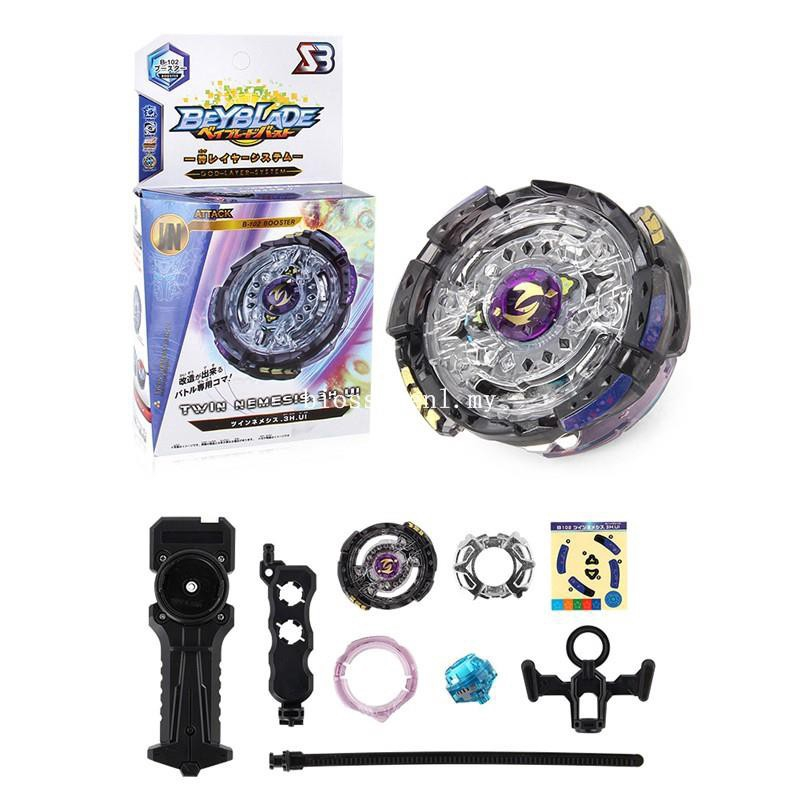 2019 Fight Beyblade Burst B102 Without Launcher Metal Top Kids Game Toy Gifts
