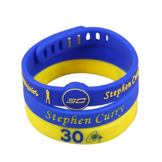 3PCs Wristband Wristlet For NBA Star Stephen Curry Silicone