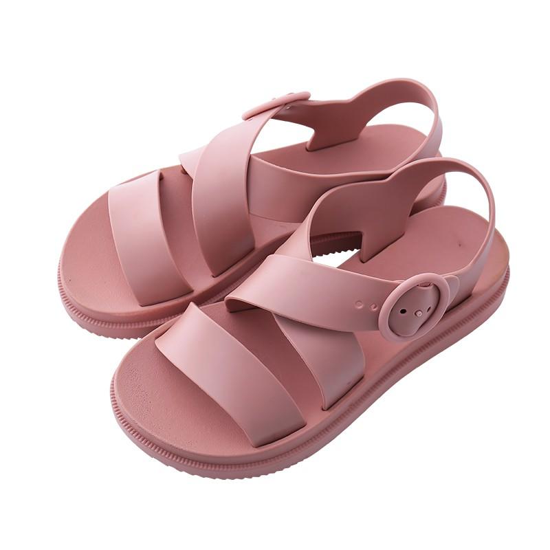 591e13892234 FITFLOP™ Delta Leather White Women Flats Sandals