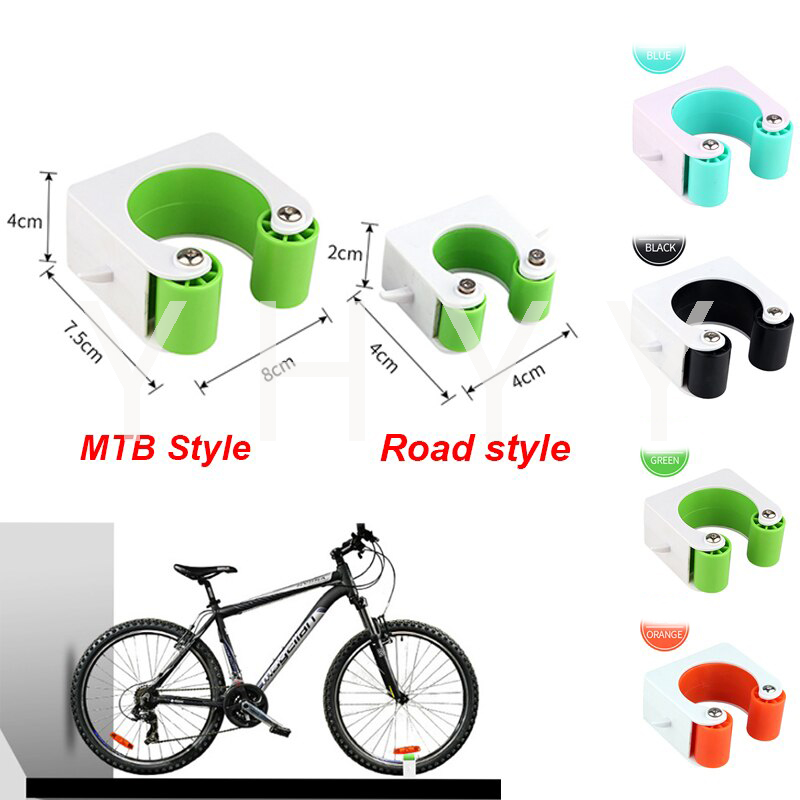 Indoor Bicycle Wall Mount Hook Road MTB Bike Parking Buckle Portable Rack Holder