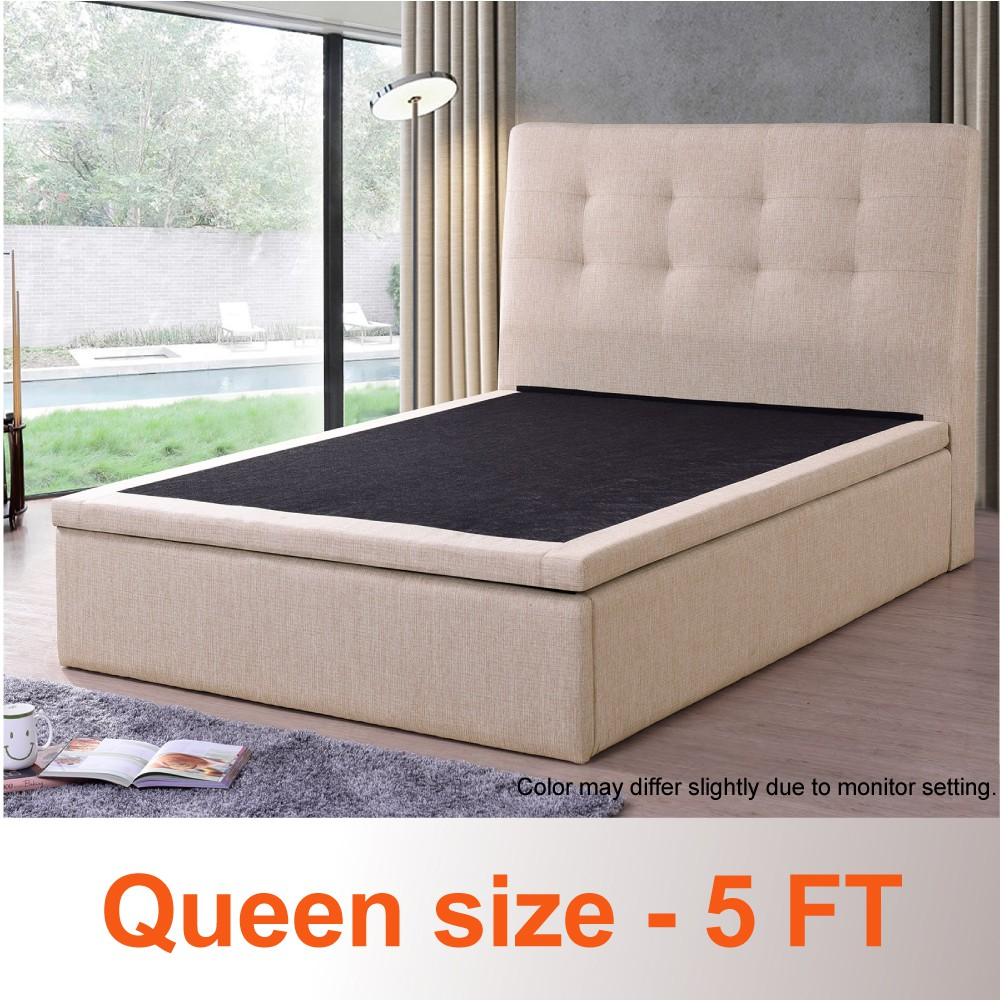 Image result for Queen size Storage Bed  shopee.sg