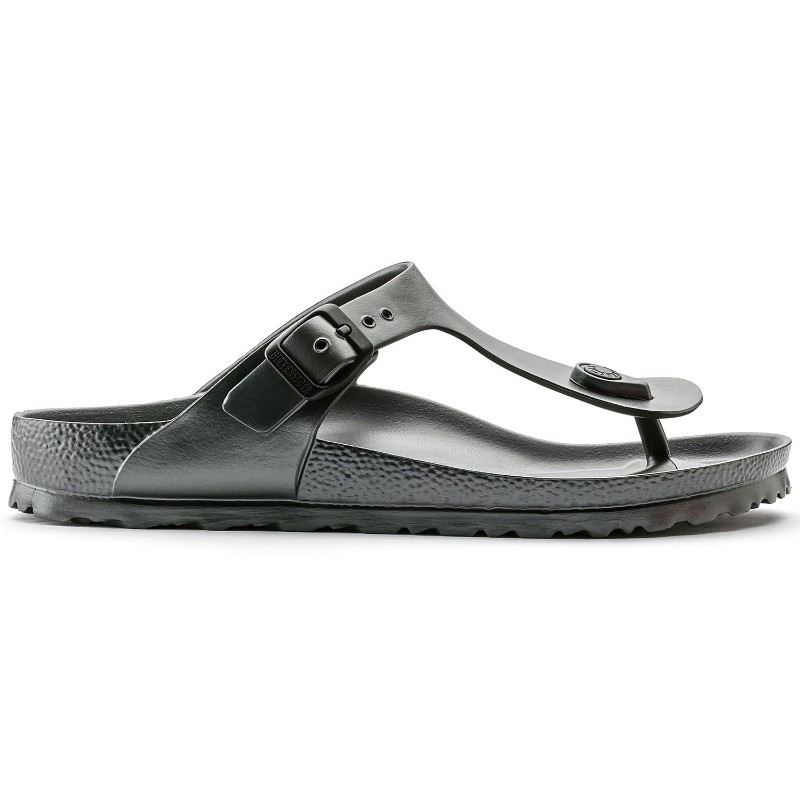 4638b885f6a Birkenstock Gizeh Soft Footbed Unisex Sandals in Desert Soil Blue ...