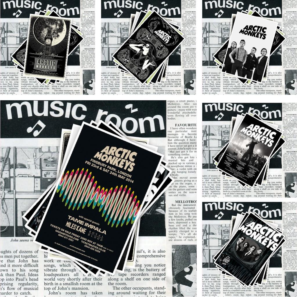 Arctic Monkeys Band Poster Shopee Singapore