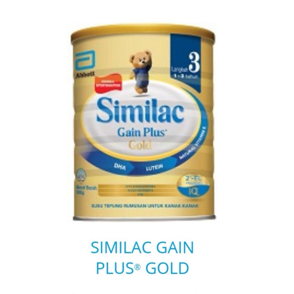 Bundle Of 2 Tins Similac Gain Plus Stage 3 1 3years 1 8kg New