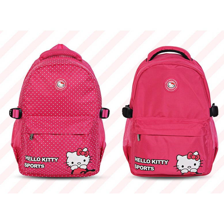 Hello Kitty Cute Style Multifunction Backpack Kid Girls Schoolbag ... 4410c12baf2fe
