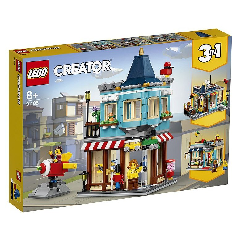 31105 Lego Creator 3in1: Townhouse Toy Store   Shopee ...