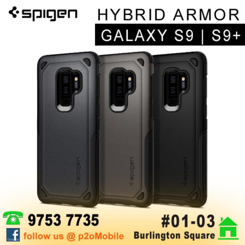 various colors 4066e 08d96 [Galaxy S9/S9+] Spigen Hybrid Armor for Samsung Galaxy S9/S9+