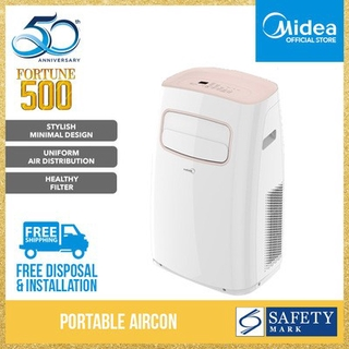 Midea Portable Aircon MS-12PF 12000 BTU | Shopee Singapore