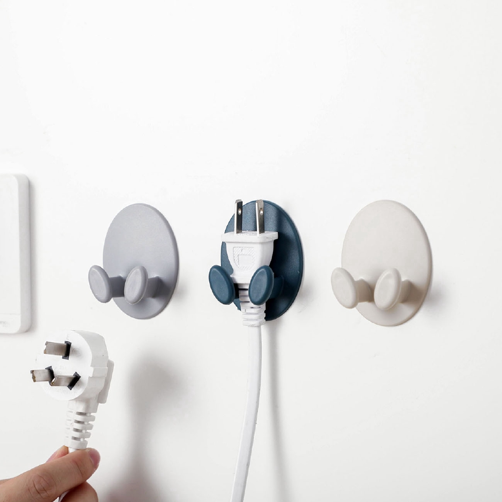 Adhesive Towel Holder Hanger Punch Free Kitchen Bathroom Wall Sucker Hooks LJ