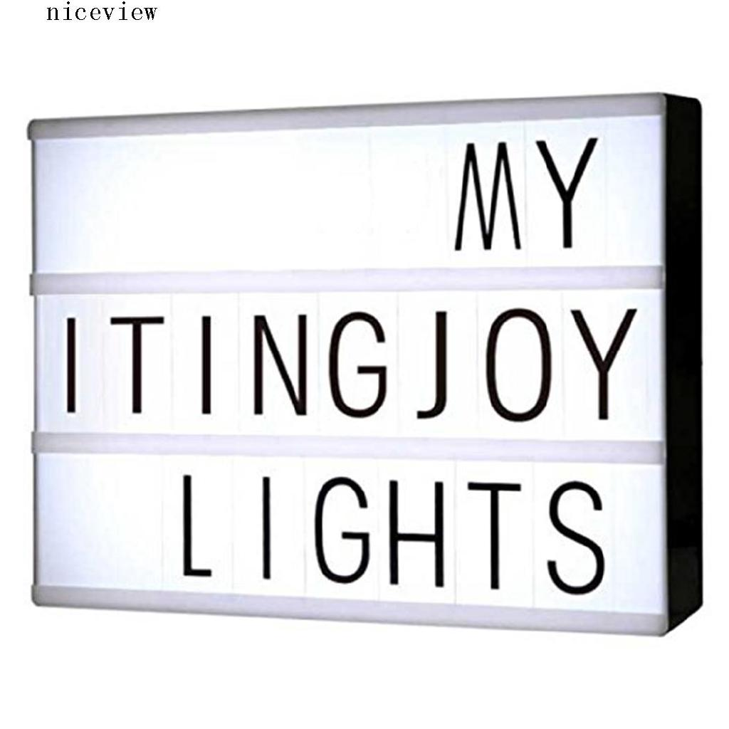 Letter Light Boxes.Ni A4 Size Letter Pattern Cinematic Led Light Box Home Office