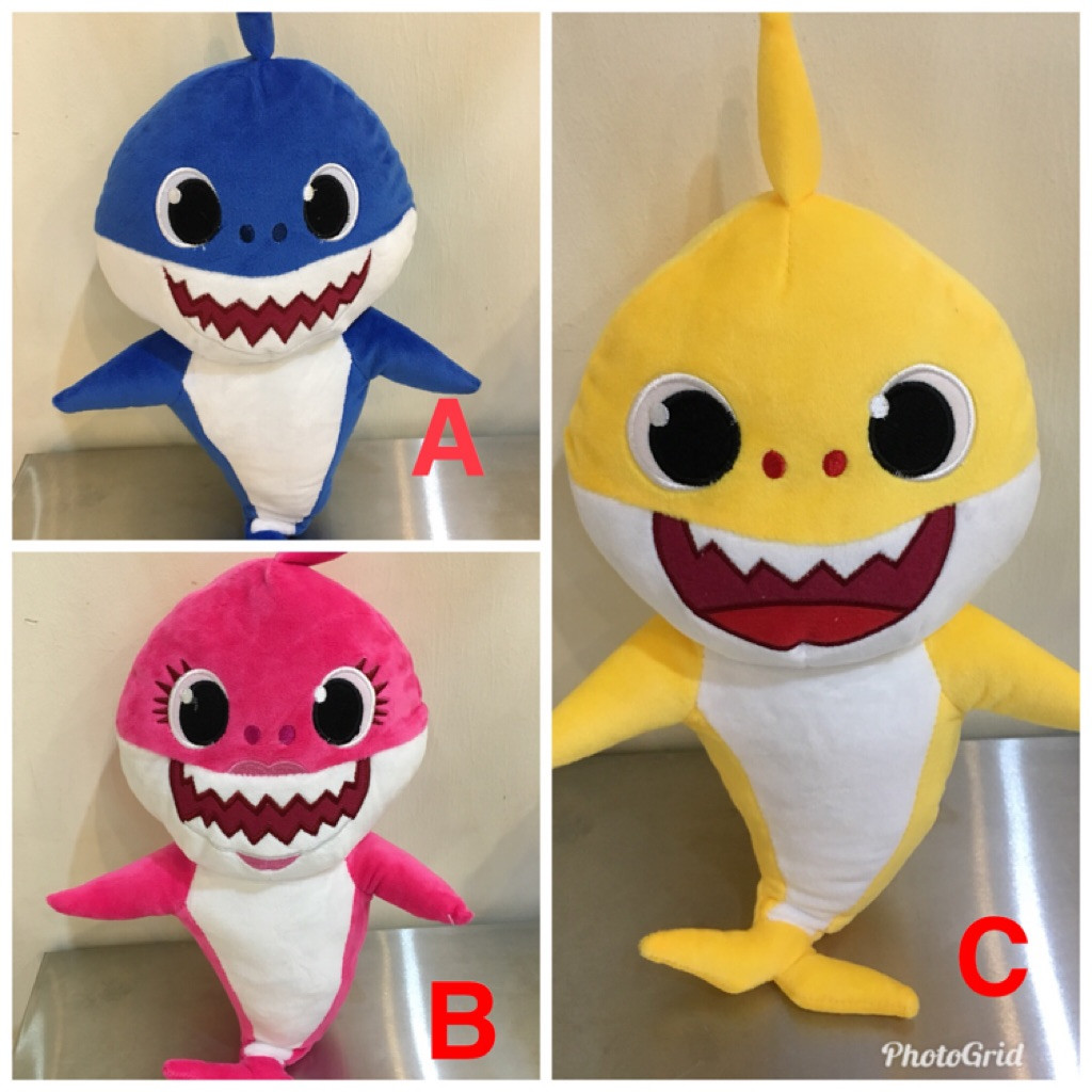 Shark Plush Stuffed Toy Singapore
