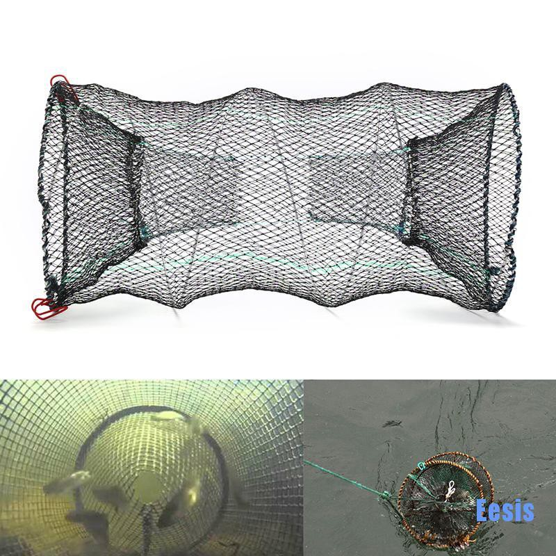 2x CRAB TRAP NET CRAB PRAWN SHRIMP CRAYFISH LOBSTER EEL LIVE BAIT FISHING POT