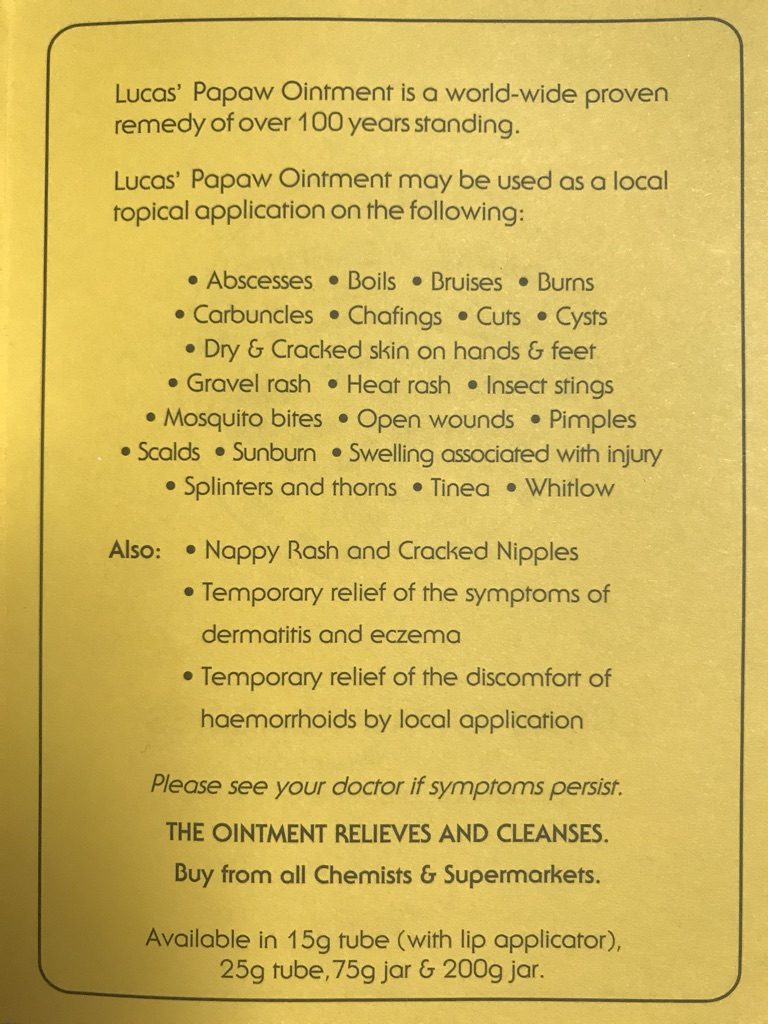 Lucas' Papaw Ointment | Shopee Singapore