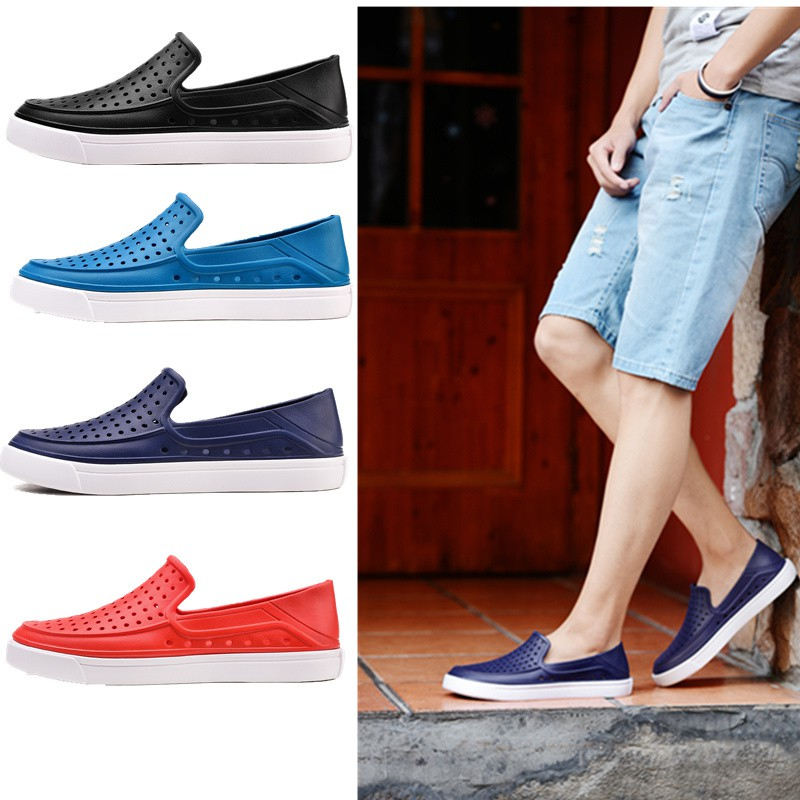 030d126e3b29 Summer Men s Beach Sandals Lightweight Non-slip Shoes Casual Slippers