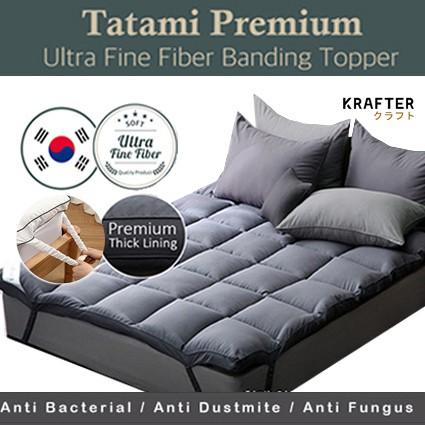 ✅INSTOCK SG Upgraded Korea Mattress Topper Standard Hotel Premium (4 Size  Option) | Shopee Singapore