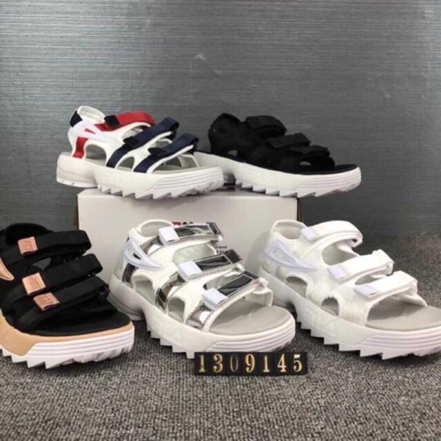 najtańszy ceny detaliczne ceny detaliczne 💕Ready Stock💕Disruptor 2 FolderXFila Ray Women Running Fila shoes Sandals