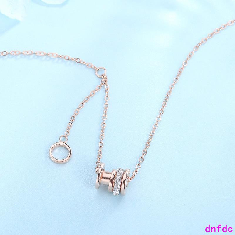 Sterling Silver Necklace Simple Fashion