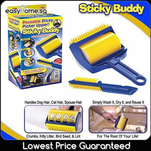 TK Sticky Lint Roller Long Home Roller, Hair Mop Handle Pet | Shopee Singapore