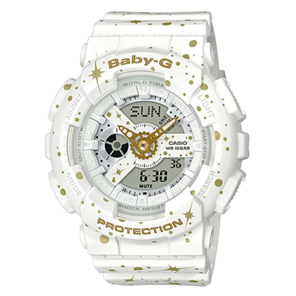 Casio Baby G Ba 110nr 8adr Chronograph White Womens Watch 1111 Seiko Ladies Sxdg76p1 Sale Shopee Singapore