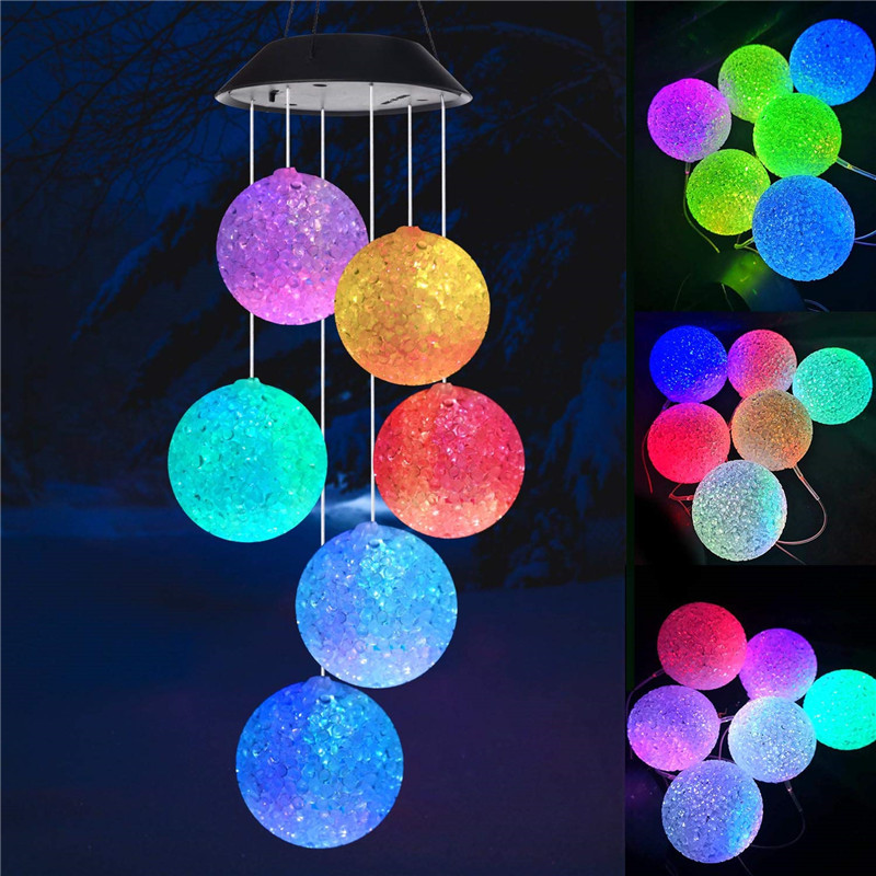 Outdoor Led Solar Powered Wind Chimes Lamp Garden Patio Bedroom Decoration Light Color Changing Uninterrupted Waterproof 3d Butterfly Love Moon Star Shape Fairy Pendant Light Shopee Singapore