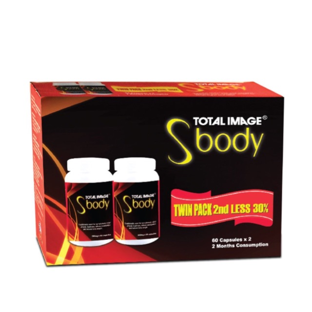 Total Image S Body 2 x 60's Twin Pack {Slimming)