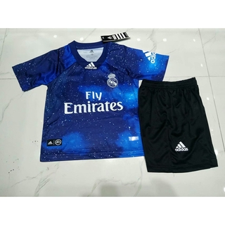 save off d0605 4e18c Real Madrid special version Soccer Jersey Set Short Sleeve T ...
