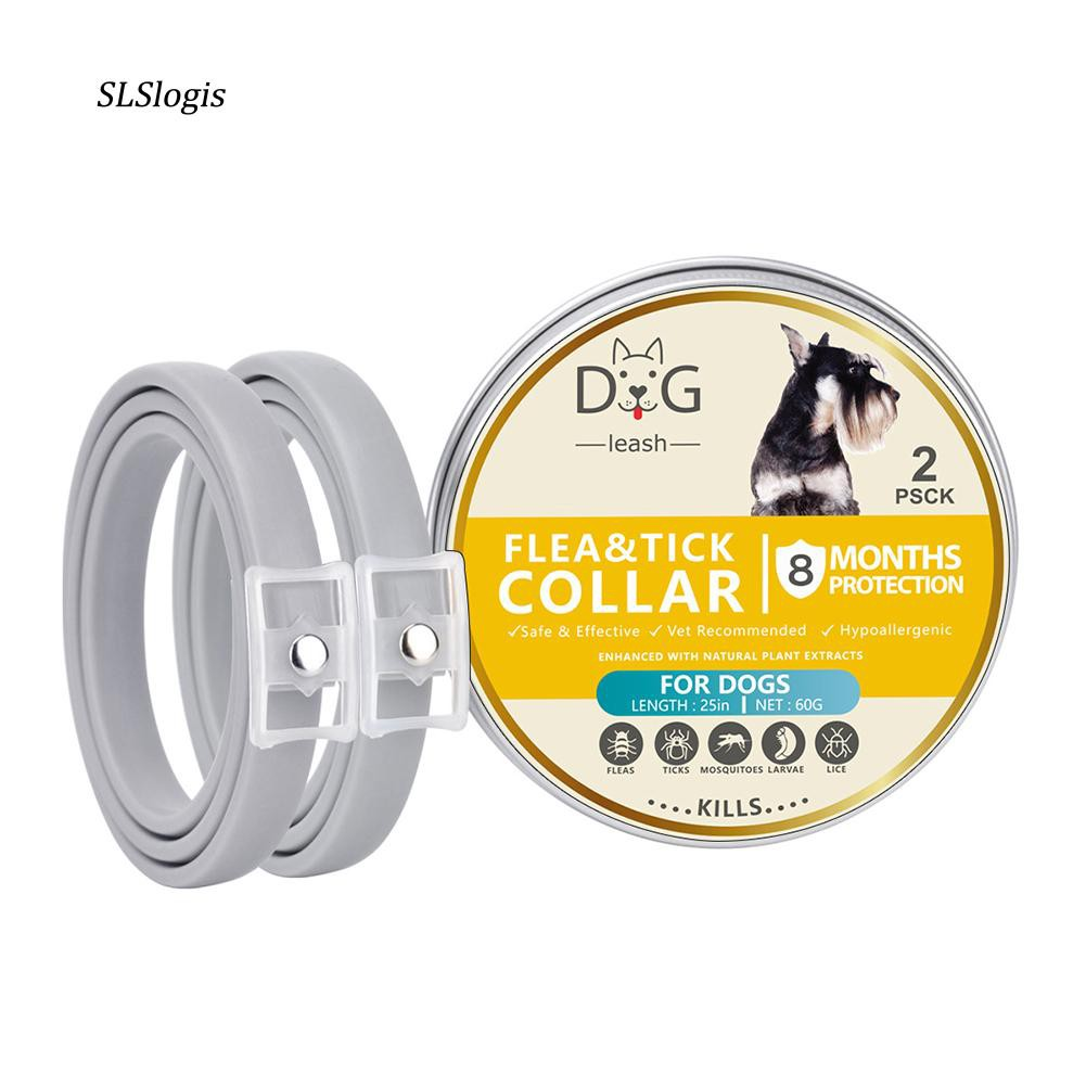 UK DOG PUPPY FLEA TICKS COLLAR,FITS ALL DOG SIZES,3 MONTHS PET PROTECTION