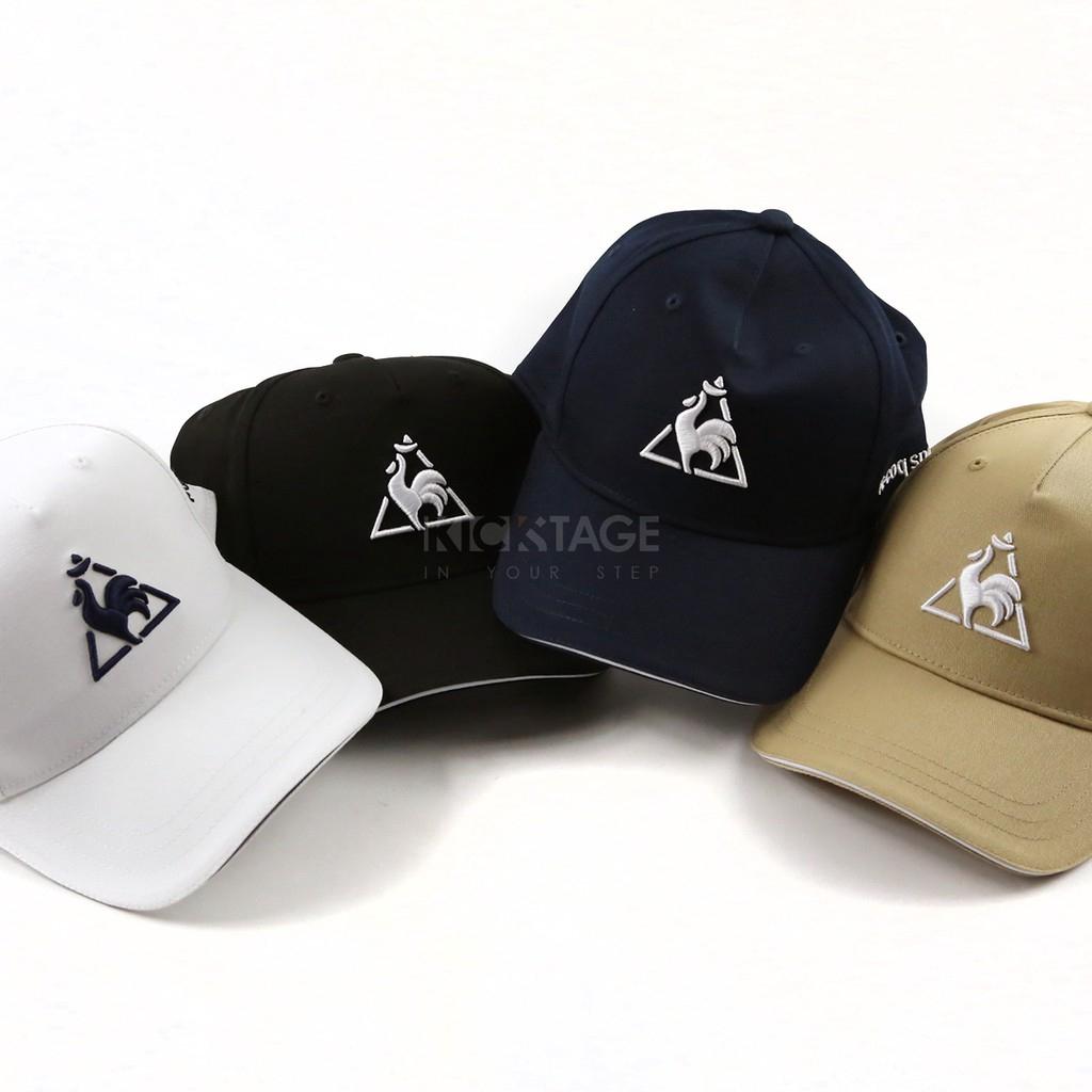Le Coq Sportif Navy Logo 3D Embroidery Vintage Cap|Le Coq Sportif 深蓝logo  立体刺绣老帽  b558076c1b2c