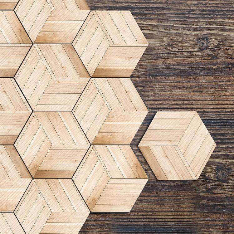 Simple Six Sided Imitation Wood Grain