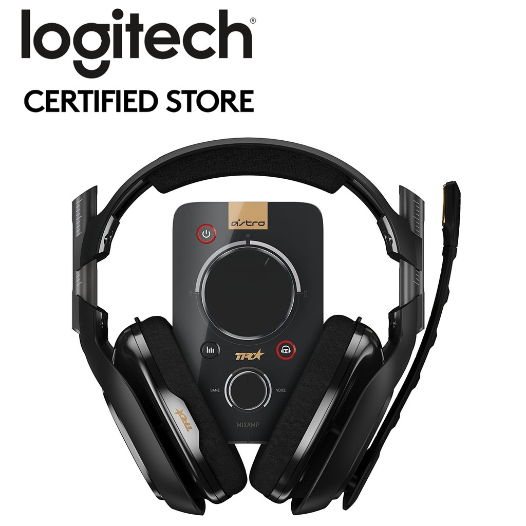 Astro Gaming A40TR Headset + MixAmp Pro TR FOR PC, MAC, PS4, Switch