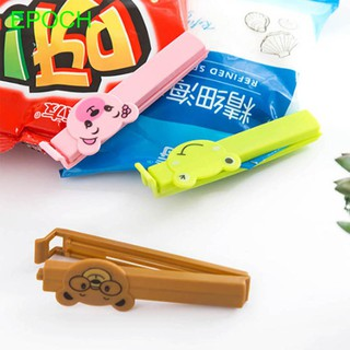 Household Cartoon Storage Bag Clips Food Preservation Kitchen Tool Bag Clips