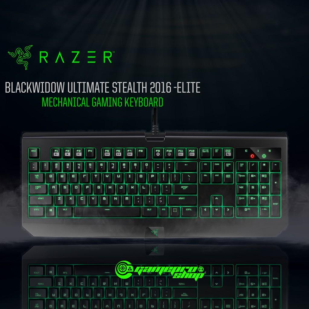 beaca3eef7d Razer BlackWidow Ultimate Stealth 2016 – Mechanical Gaming Keyboard    Shopee Singapore