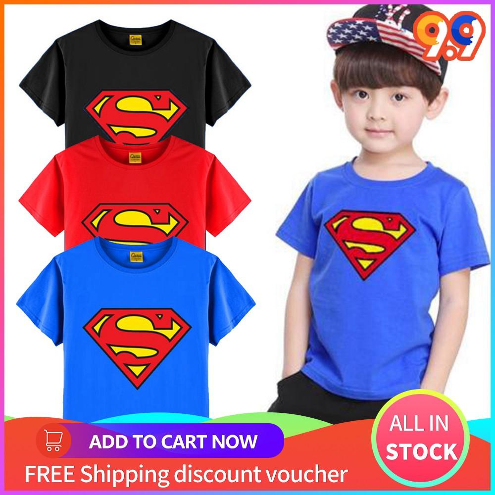 superman t shirt for girl