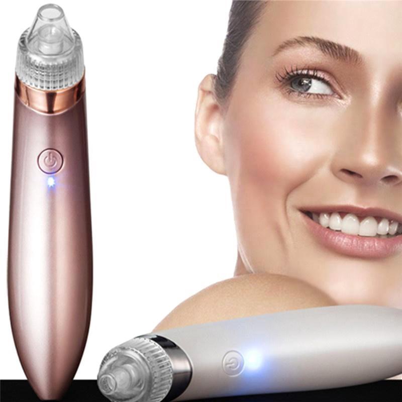 Facial Blackhead Acne Remover Vacuum Suction Diamond Dermabrasion Pore Clea ☀A