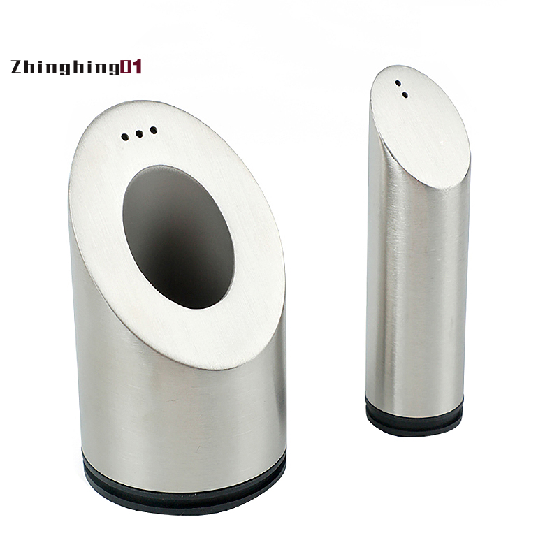 1pcs Stainless Steel Salt And Pepper Shakers Set For Spices With Holes Seasoning Jar Spice Rack Kitchen Cruet Tool Shopee Singapore