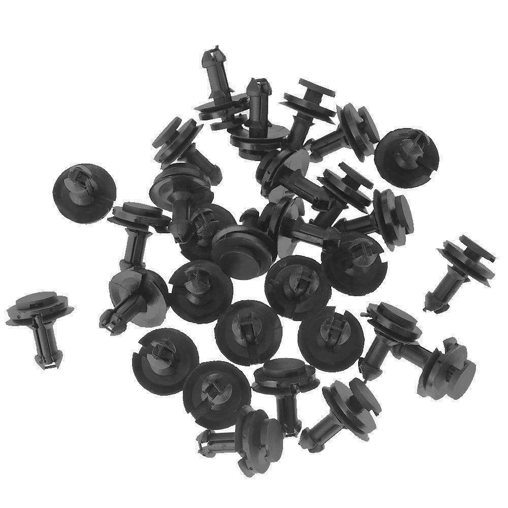 20 For GM Silverado Lower Front Air Deflector Retainer Clip 15733971