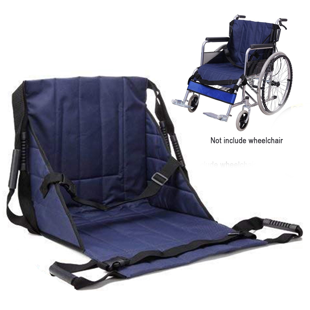 Wheelchair Transfer Soft Anti-slip Foldable Pain Relief Protective Seat  Cushion