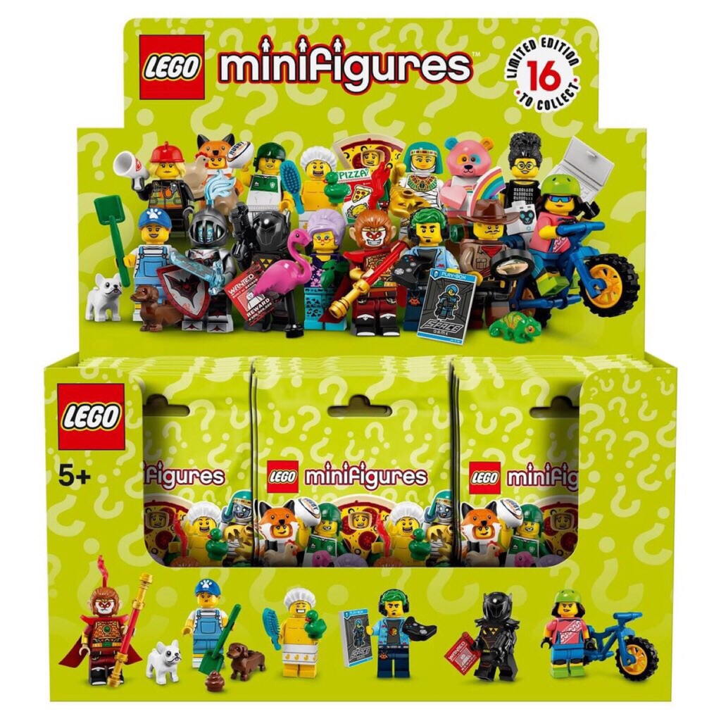 Belrion LEGO 71025 Series 19 Collectible Minifigures Box of 60