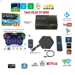 CSA93 Amlogic S912 3GB RAM 32GB ROM TV Box   Shopee Singapore