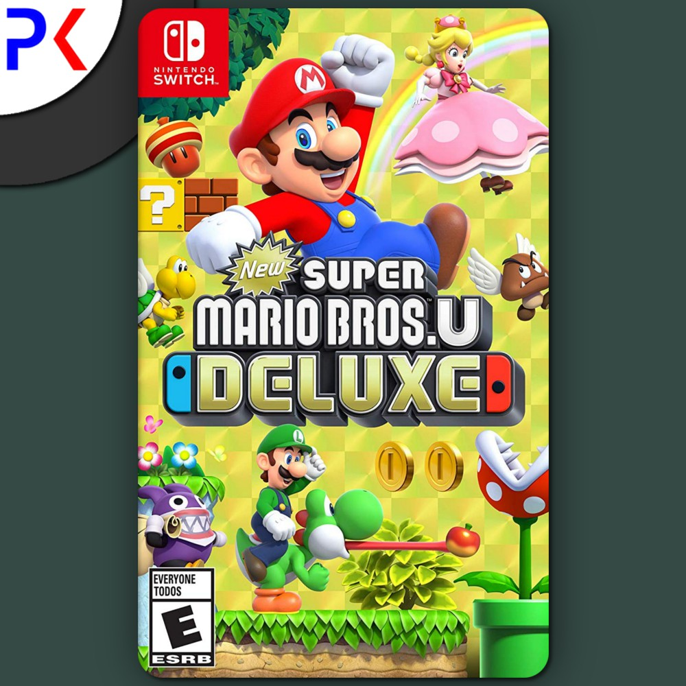 Nintendo Switch New Super Mario Bros U Deluxe (US)