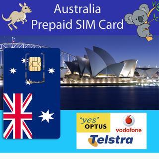 Australia Prepaid SIM Card (Telstra / LycaMobile, Optus and