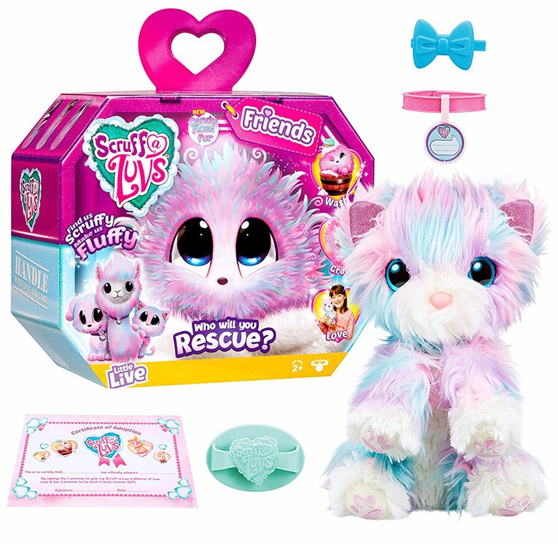 NEW LITTLE LIVE SCRUFF A LUVS BABIES MYSTERY PET BLIND PACK AUTHENTIC RESCUE 21