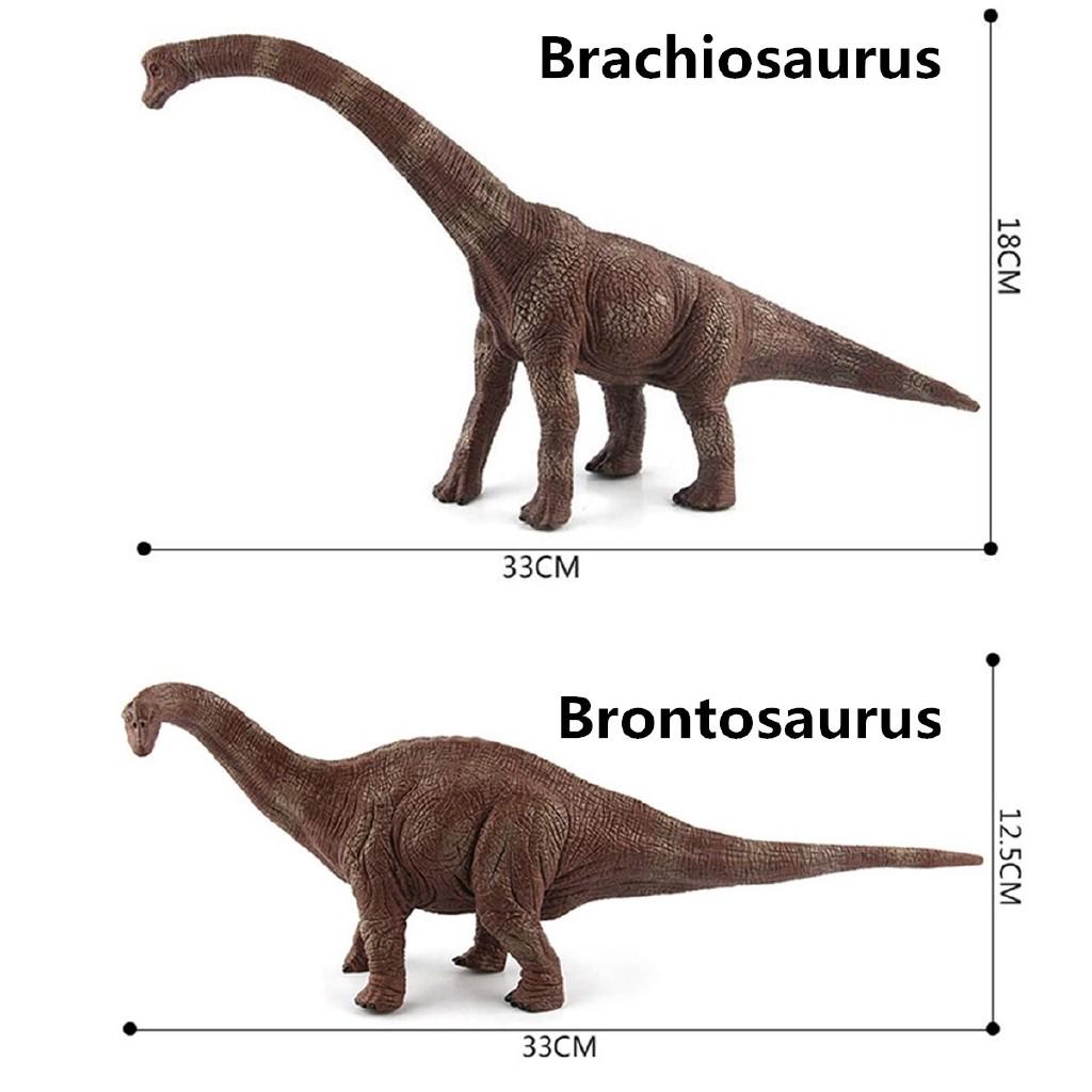 Large Brontosaurus Dinosaur Toy Realistic Solid Plastic Model Christmas GIFT Kid