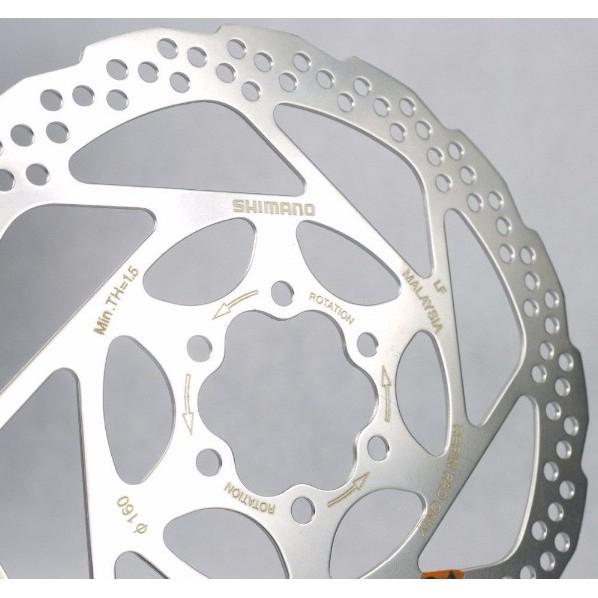 "MTB Mountain bike Bicycle Brake Disc RT56-S Rotor 160mm 6/"" Rotors bolts 1 piece"