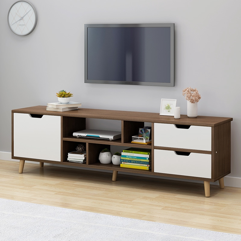 Tv Cabinet Coffee Table Combination Simple Modern Living Room Bedroom Tv Table Cabinet Simple Shopee Singapore
