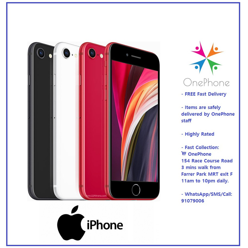 Apple iPhone SE (2020) 128GB ~ 64GB | Shopee Singapore
