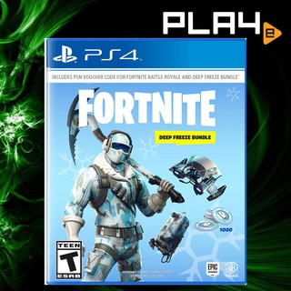 Ps4 Fortnite Deep Freeze Bundle No Game Disc Is Included