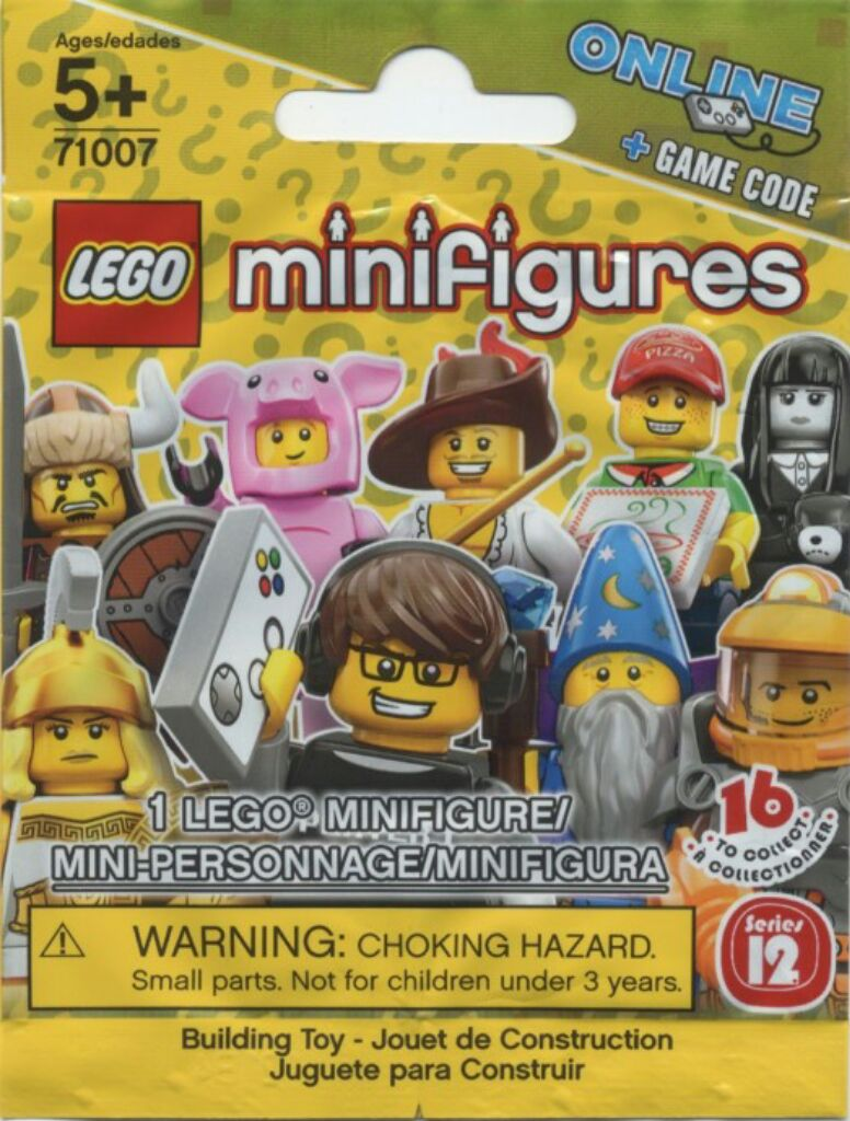 71007 - Series 12 -COMPLETE SET of 16 Figures New /& SEALED! LEGO MINIFIGURES
